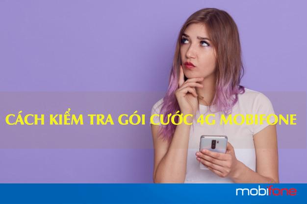 Tại sao cần kiểm tra gói cước 4G Mobifone