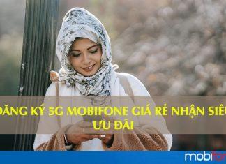 Đăng ký gói cước 5G Mobifone